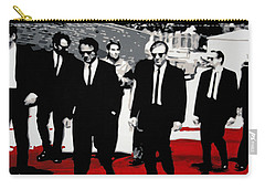Reservoir Dogs Carry-all Pouch by Luis Ludzska