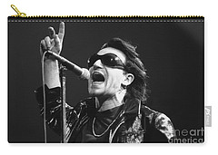 U2 - Bono Carry-all Pouch by Concert Photos