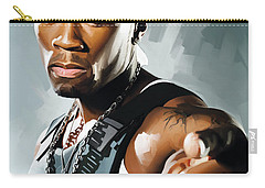 50 Cent Artwork 2 Carry-all Pouch by Sheraz A