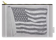 50 Stars 13 Stripes Carry-all Pouch by Wil Golden