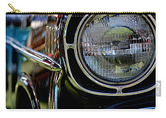 Carry-all Pouch featuring the photograph 50's Chevy by Dean Ferreira