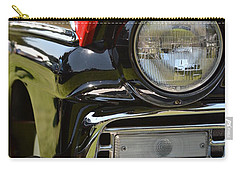 Carry-all Pouch featuring the photograph 50's Ford by Dean Ferreira