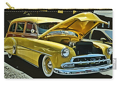 '52 Chevy Wagon Carry-all Pouch by Victor Montgomery