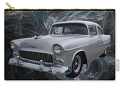 55 Chevy Carry-all Pouch by Chris Thomas