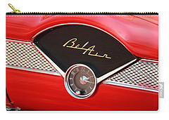 Classic Cars Carry-all Pouch featuring the photograph '56 Bel Air by Aaron Berg