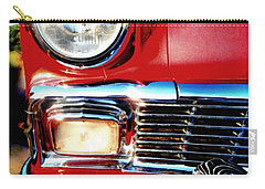 56 Chevy Bel Air Red American Classic Car  Carry-all Pouch