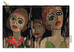 562 - Three Young Girls   Carry-all Pouch
