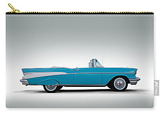 57 Chevy Convertible Carry-all Pouch