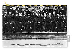 5th Solvay Conference Of 1927 Carry-all Pouch
