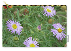 6 Asters Left Carry-all Pouch