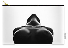 Black And White Nude Carry-all Pouch by Gunnar Orn Arnason