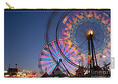 Evergreen State Fair With Ferris Wheel Carry-all Pouch