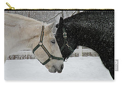 Nh Mounted Police Horses Carry-all Pouch