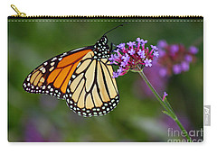 Monarch Butterfly In Garden Carry-all Pouch