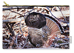 Ruffed Grouse Carry-all Pouch by Ronald Lutz