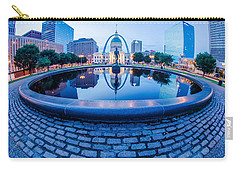 St. Louis Downtown Skyline Buildings At Night Carry-all Pouch
