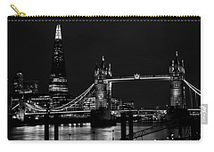 The Shard And Tower Bridge Carry-all Pouch