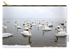 60 Swans A Swimming Carry-all Pouch