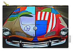 60s Wild Ride Carry-all Pouch by Mary Machare