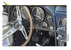 '66 Corvette Dash Carry-all Pouch by Kenny Francis
