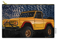 69 Ford Bronco 4x4 Restoration Carry-all Pouch