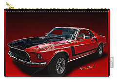 69 Mustang Mach 1 Carry-all Pouch