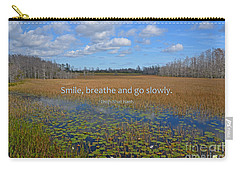 69- Thich Nhat Hanh Carry-all Pouch by Joseph Keane