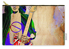 Eddie Van Halen Special Edition Carry-all Pouch by Marvin Blaine