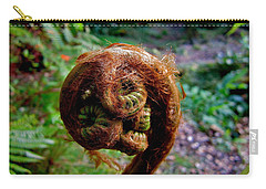 Carry-all Pouch featuring the photograph Hapu'u Pulu by Lehua Pekelo-Stearns