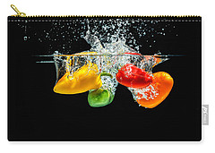 Splashing Paprika Carry-all Pouch