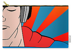 Superman  Carry-all Pouch by Mark Ashkenazi