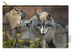Timber Wolves Carry-all Pouch