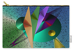 Abstract Bird Of Paradise Carry-all Pouch