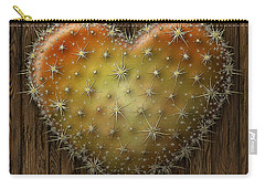 Cactus Heart Carry-all Pouch