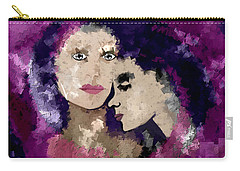 817 - Clinging Together In Stormy Weather  Carry-all Pouch