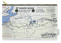 89th Infantry Division World War I I Map Carry-all Pouch