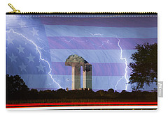 9-11 We Will Never Forget 2011 Poster Carry-all Pouch