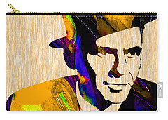 Frank Sinatra Carry-all Pouch by Marvin Blaine