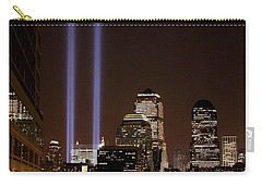 Carry-all Pouch featuring the photograph 911 Anniversary by Gary Slawsky