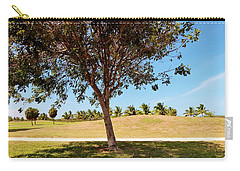 Carry-all Pouch featuring the photograph 96 Degrees In Da Shade by Amar Sheow