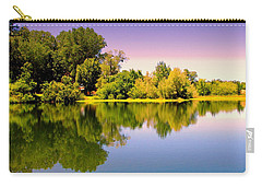A Beautiful Day Reflected Carry-all Pouch