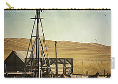 A Beautiful Nebraska Sandhills Farm Carry-all Pouch by Priscilla Burgers