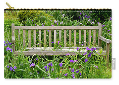 A Bench For The Flowers Carry-all Pouch