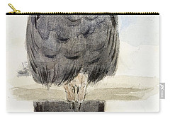 A Black Cockatoo Carry-all Pouch by Henry Stacey Marks