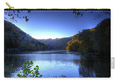 A Blue Lake In The Woods Carry-all Pouch