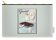 A Blueberry Tart Carry-all Pouch
