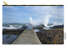 A Blustery Day At High Rock Carry-all Pouch by Martina Fagan