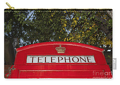 A British Phone Box Carry-all Pouch