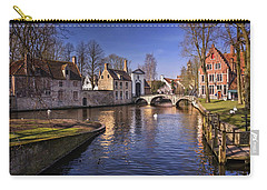 Blue Bruges Carry-all Pouch by Carol Japp