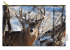 A Buck In The Bush Carry-all Pouch